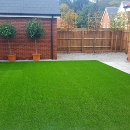 Artificial grass & turfing - North Essex Landscaping