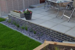 Composite deck porcelain slabs - Bishop's Stortford - 6
