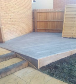 Composite deck porcelain slabs - Bishop's Stortford - 8