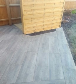 Composite deck porcelain slabs - Bishop's Stortford - 9