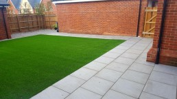 Garden area - Stansted