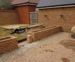 Patio, brickwork, decking & turfing - 3