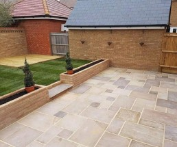 Patio, brickwork, decking & turfing - 5