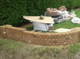 Patio, brickwork, decking & turfing - 6