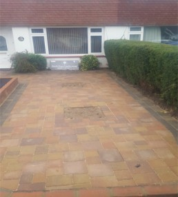 Patio, brickwork, decking & turfing - 7