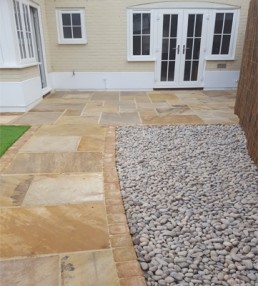 Patio, brickwork, decking & turfing - 8