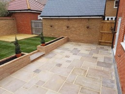 Patio, brickwork, decking & turfing - North Essex Landscaping - Great Dunmow