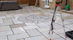 Patio & turfing - 1