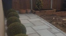 Patio & turfing - 3