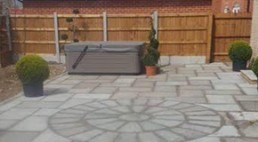 Patio & turfing - 4