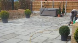 Patio & turfing - 5